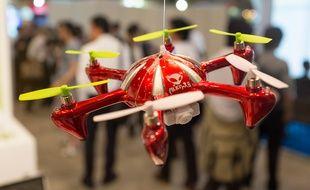 Le premier Salon du drone de Tokyo, le 22 mai 2015.