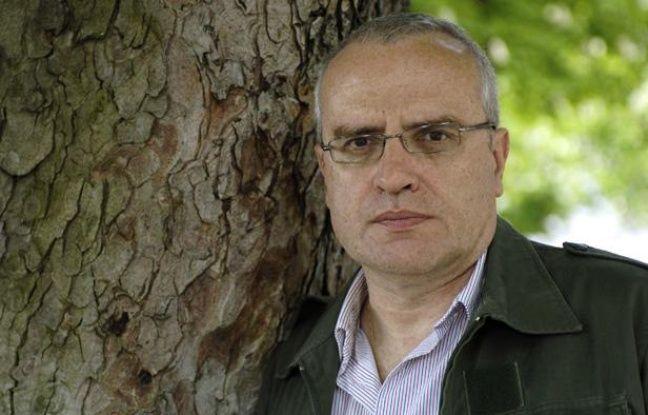 L'écrivain Richard Millet, photographié en mai 2006.