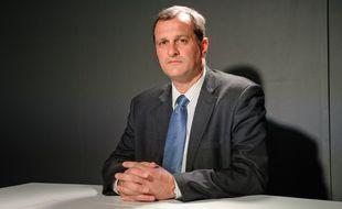 Paris le 20 mars 2012. Louis Aliot, homme politique français, membre du Rassemblement national.