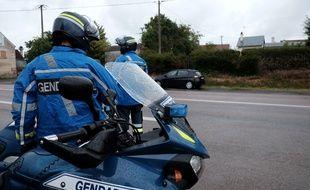 Un contrôle routier de la gendarmerie (illustration).