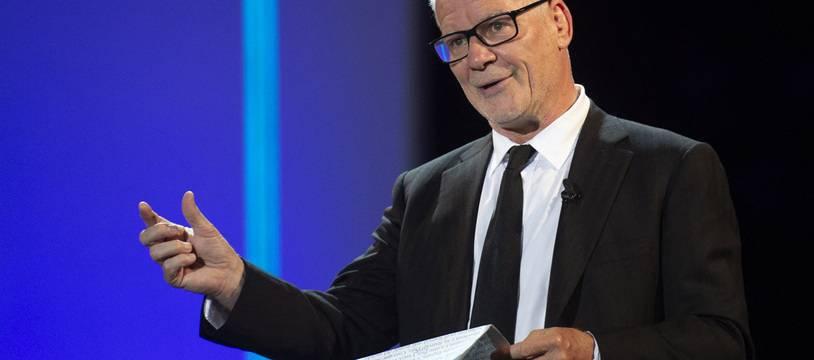 Thierry Frémaux à la cérémonie d'ouverture du Festival de San Sebastian (Espagne), le 17 septembre 2021.