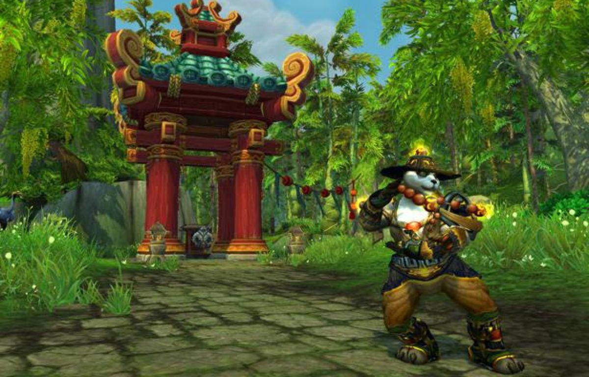 """Les Pandarens, une nouvelle race jouable dans """"World of Warcraft: Mists of Pandaria"""". – blizzard"""