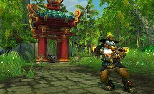 """Les Pandarens, une nouvelle race jouable dans """"World of Warcraft: Mists of Pandaria""""."""