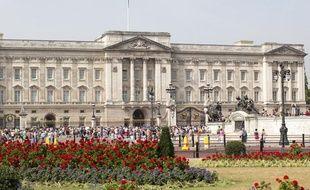 Buckingham Palace, la résidence officielle de la monarchie britannique à Londres.