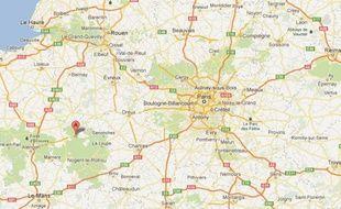 Google Maps d'Autheuil (Orne).