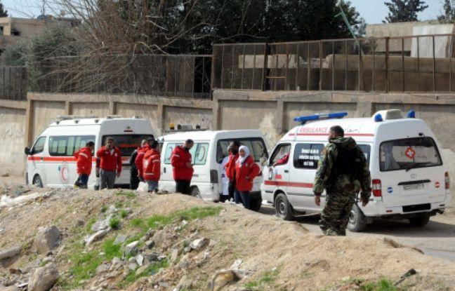 nouvel ordre mondial | Syrie: Un premier convoi d'aide «en route» vers la Ghouta orientale