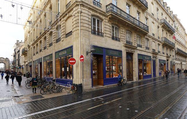 La librairie Mollat est installée depuis 1928 rue Porte-Dijeaux.