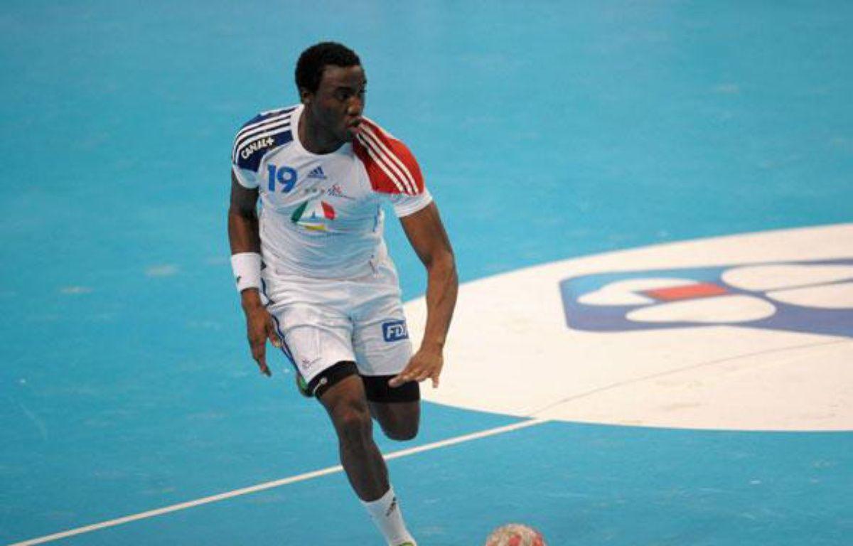 Luc Abalo, le 9 janvier 2011 à Paris-Bercy. – A.Pierre / SIPA