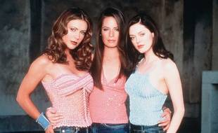Rose McGowan,Alyssa Milano et Holly Marie Combs, dans Charmed en 2002