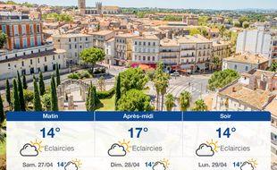 Météo Montpellier: Prévisions du vendredi 26 avril 2019