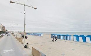 La digue de Malo, à Dunkerque.