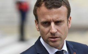 Emmanuel Macron, le 7 juin 2017 à l'Élysée.