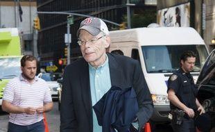 L'écrivain Stephen King à New York.
