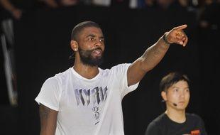 Kyrie Irving, le meneur vedette des Cleveland Cavaliers, rejoint les Boston Celtics pour la saison 2017-2018 de NBA.