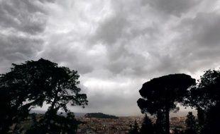 Des nuages au-dessus de Nice le 4 novembre 2014
