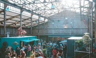 La nouvelle Friche Gourmande s'est installée dans une ancienne usine de Marcq-en-Baroeul