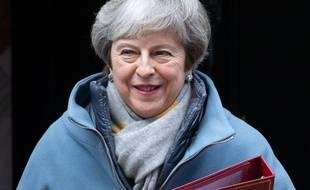 Theresa May, le 21 janvier 2019 à Londres.