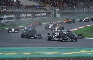 Grand Prix de Formule 1 de Turquie sur le circuit Intercity Istanbul Park, le dimanche 10 octobre 2021.