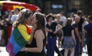 Gay Pride à Paris, le 25 juin 2011