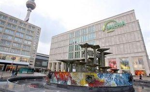 Le corps a été retrouvé dans les ruines d'une églie non loin de l'Alexanderplatz à Berlin.