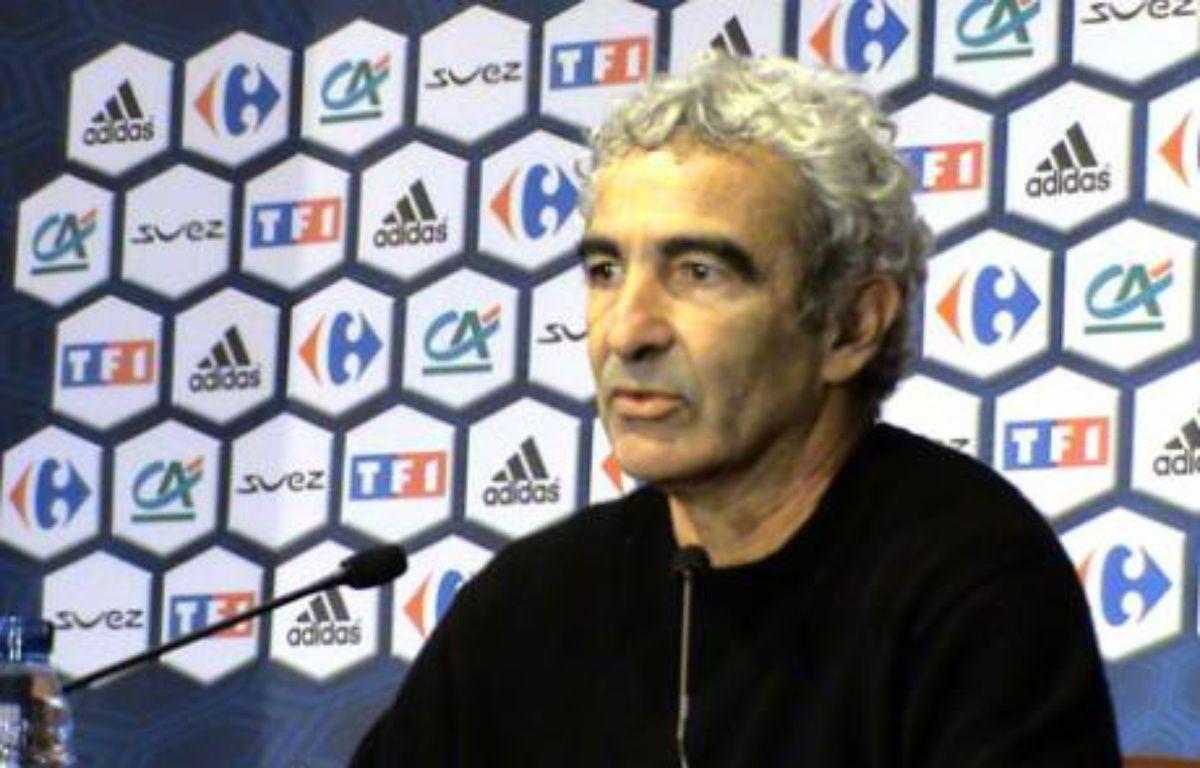 Raymond Domenech, le sélectionneur des Bleus, le 31 janvier 2008, au siège de la Fédération française de football. – G. BAUDU / 20 MINUTES