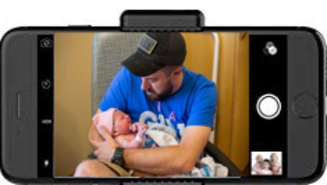 Voilà l'image que peut voir la maman grâce à ce système de réalité virtuelle.
