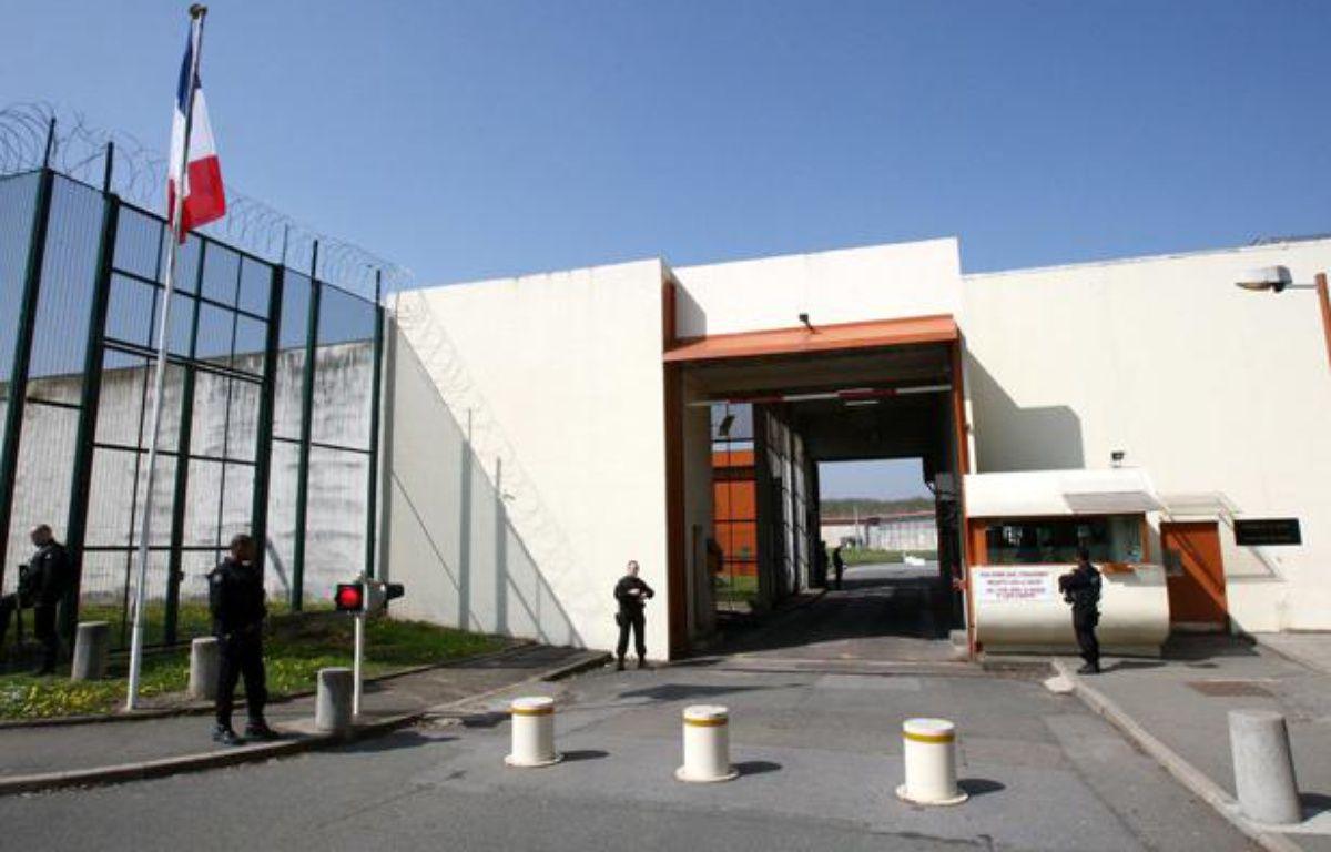 La prison de Bois d'Arcy dans les Yvelines, en avril 2010. – CHAUVEAU/SIPA