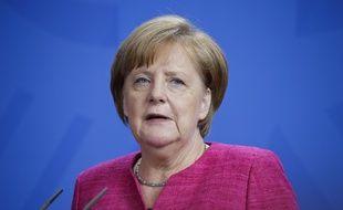 Angela Merkel à Berlin, le 15 juin 2018.