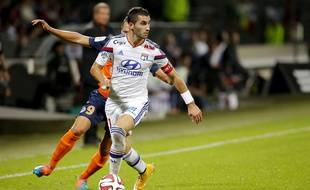 Maxime Gonalons est le capitaine incontesté de l'Olympique Lyonnais.   /FAYOLLE_Photo016/Credit:Pascal Fayolle/SIPA/1410201219