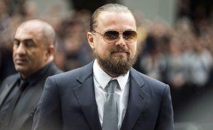 Leonardo Di Caprio à Milan en avril 2015