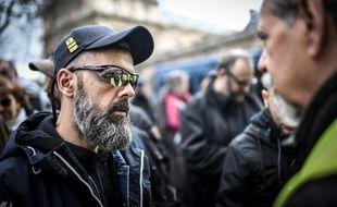 Jérôme Rodrigues a été placé en garde à vue en marge du défilé du 14-Juillet 2019.