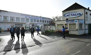 L'entreprise Lactalis à Laval (image d'illustration).