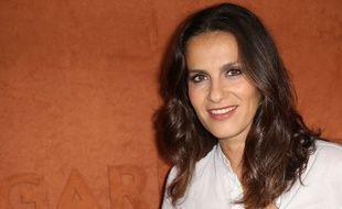 Elisa Tovati à Roland Garros en 2018
