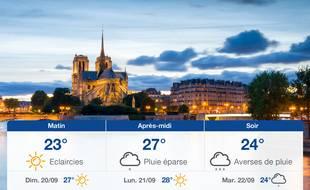Météo Paris: Prévisions du samedi 19 septembre 2020