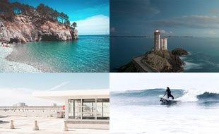 Les photos de la Bretagne publiées sur Instagram.