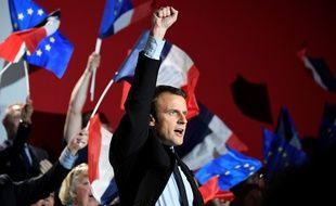 Emmanuel Macron à Arras, le 26 avril 2017.
