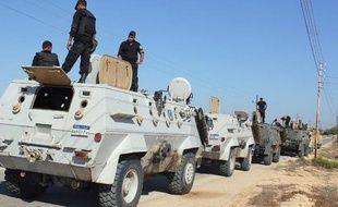 Egypte: 10 soldats tués dans un attentat dans le Sinaï