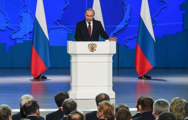 Russie: Poutine menace de déployer ses nouveaux missiles contre les Occidentaux