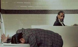 Psy et Snoop Dog dans le clip «Hangover».