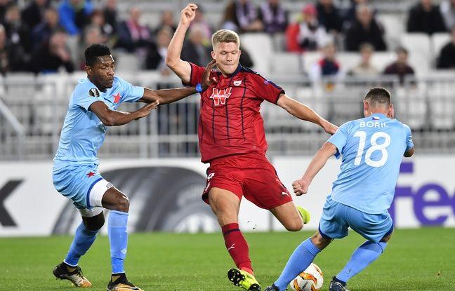 Ligue Europa: Tous les chemins mènent à Copenhague pour l'attaquant des Girondins Andreas Cornelius