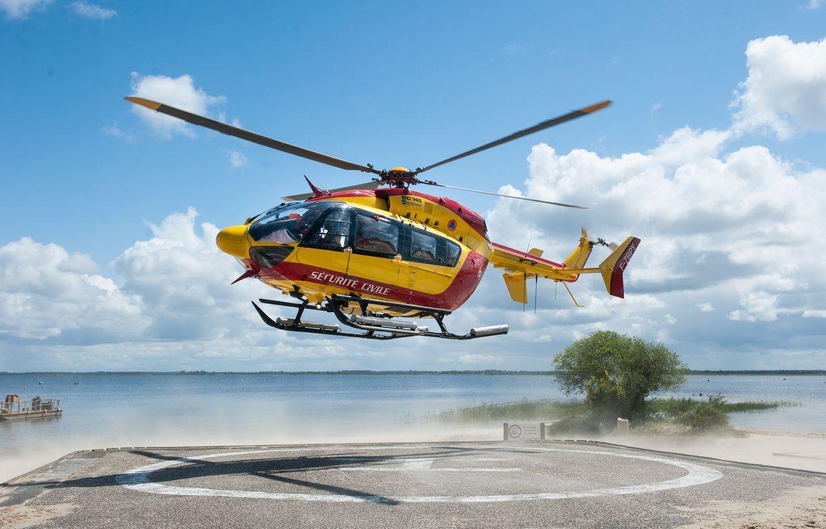 Illustration de l'hélicoptre de la sécurité civile. – S. Ortola / 20 Minutes