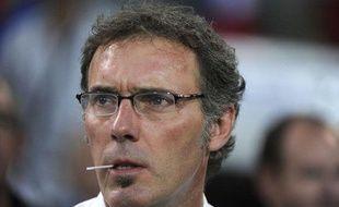 Laurent Blanc, le sélectionneur de l'équipe de France, le 10 août 2011, à Montpellier.