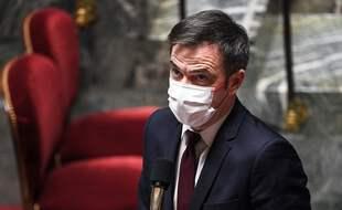 Olivier Véran, le 16 février 2021 à l'Assemblée nationale.