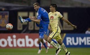 Gignac a marqué mais les Tigres ont perdu en finale retour de Ligue des champions de la Concacaf (2-1), le 27 avril 2016.