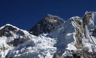 Le Mont Everest le 4 décembre 2009