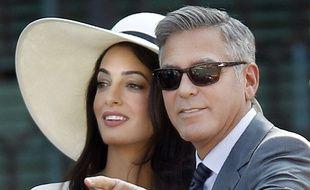 Amal Alamuddin, avocate et femme de George Clooney, est attendue à Strasbourg fin janvier.