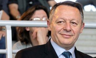 Thierry Braillard, le secrétaire d'état aux sports, le 11 avril 2014 à Chartres.