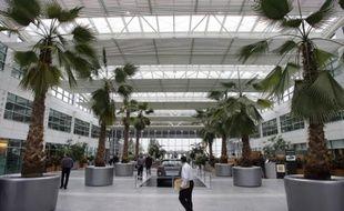 Le Technocentre Renault,à Guyancourt, où trois salariés se sont suicidés en 2006-2007.