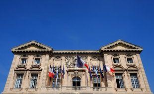 La façade de la mairie de Marseille, en mars 2014.