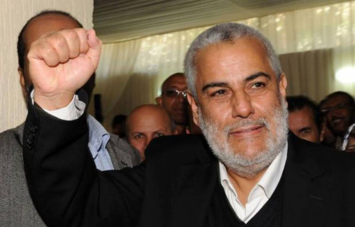 Les islamistes du Parti justice et développement (PJD) sont en tête des législatives de vendredi avec 80 sièges, selon des résultats partiels annoncés samedi par le ministre marocain de l'Intérieur Taib Cherkaoui. – Abdelhak Senna afp.com